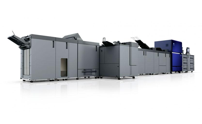 В типографии «Радуга» запускают первую в России цифровую печатную машину Konica Minolta AccurioPress C14000