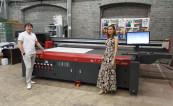 В РПК «Лиго» установлен планшетный УФ-принтер EFI Pro 30f