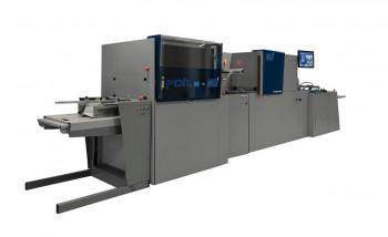 В Поволжье установлена первая струйная машина MGI, предназначенная для цифровой отделки печатной продукции