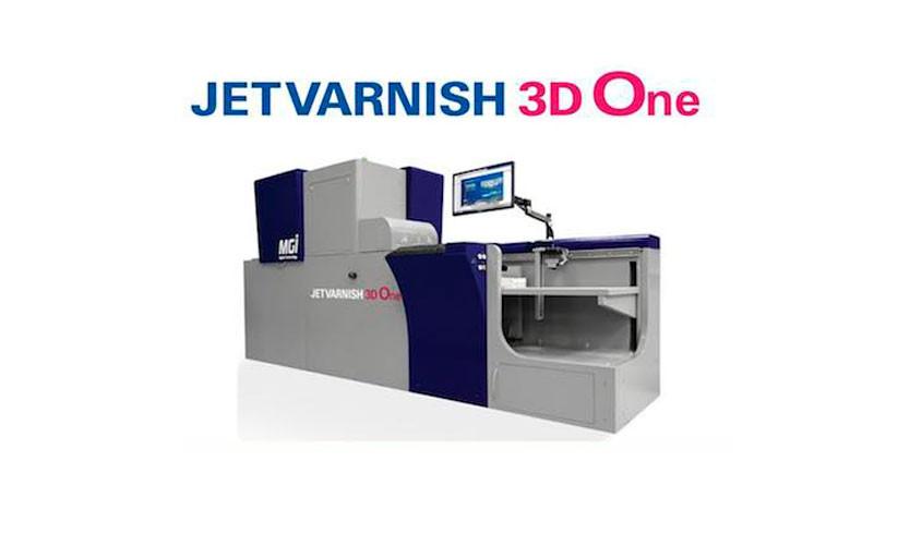 Отделка, доступная всем! MGI и Konica Minolta выпускают JETvarnish 3D One