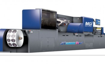 MGI JETvarnish 3DW Narrow-web Enhancement Press