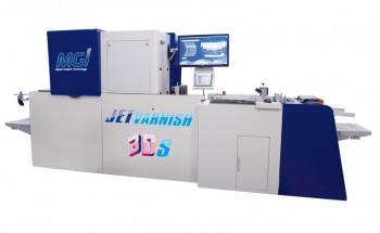 Листовая машина для отделки печатной продукции MGI JetVarnish 3DS