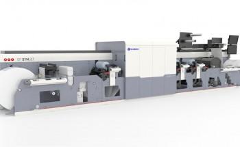 Гибридная машина для печати этикетки MPS EF SymJet