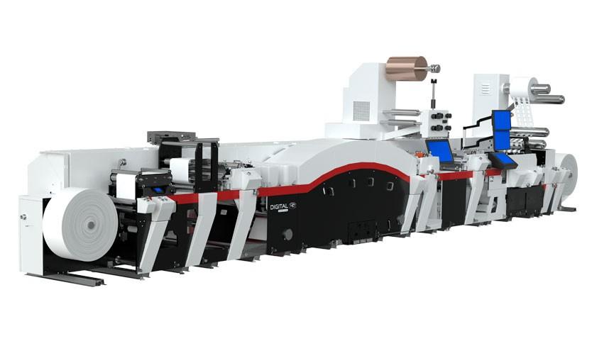 Гибридный печатно-отделочный комплекс Mark Andy Digital Series HD