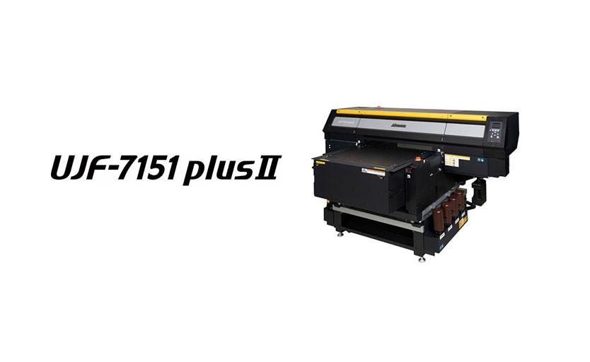 Mimaki анонсировала новый УФ-принтер UJF-7151plusII