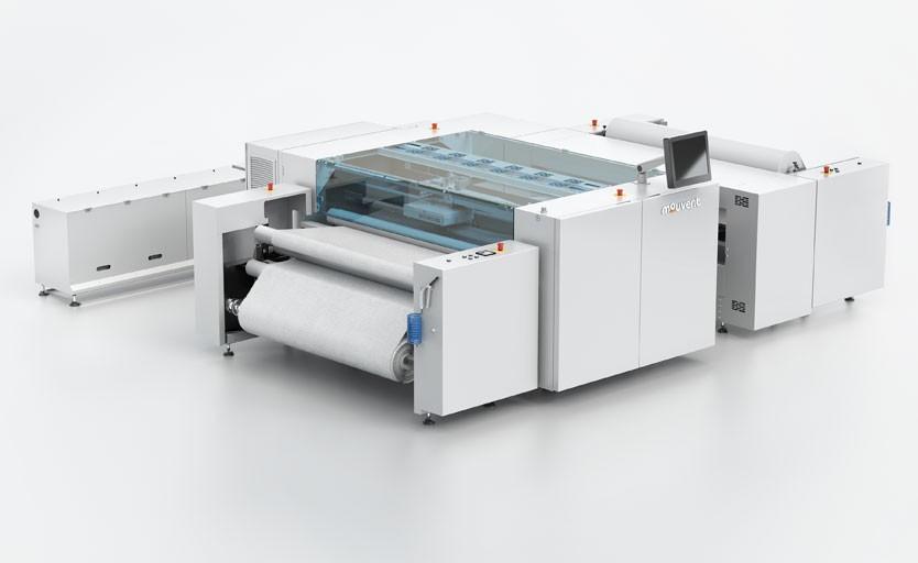 Широкоформатный текстильный принтер Mouvent TX801
