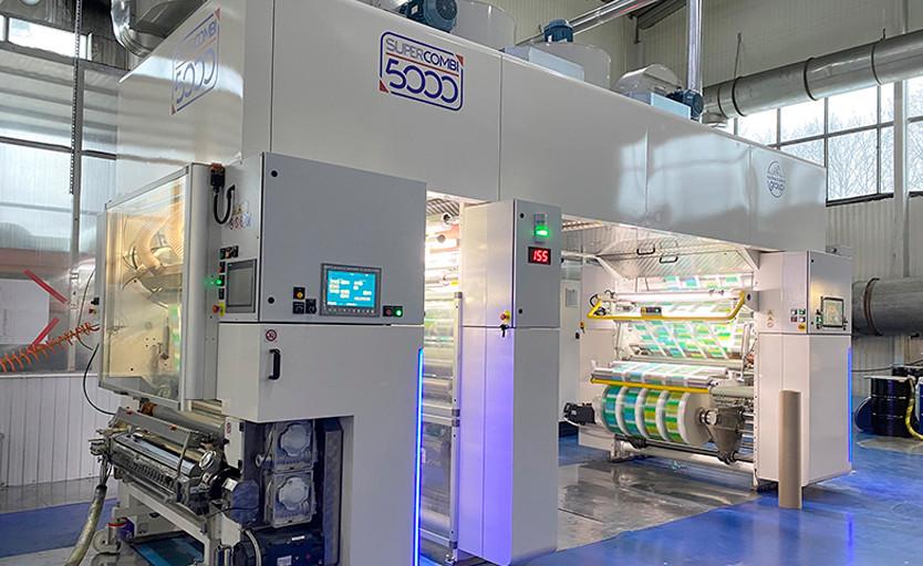 В «Готэк-Полипак» установлен первый в России универсальный ламинатор Nordmeccanica Super Combi 5000
