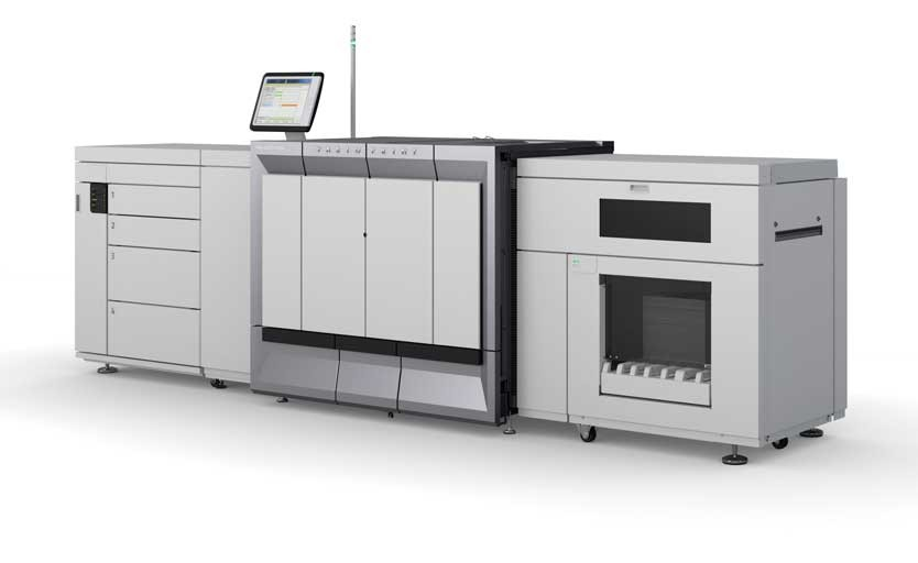 Цифровая печатная машина Océ VarioPrint 6000 Titan с одним подающим модулем и одним накопителем