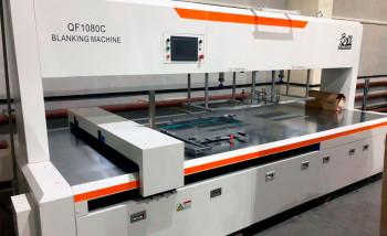 Типография «Оригамо» приобрела вторую машину для разделения заготовок картонной упаковки