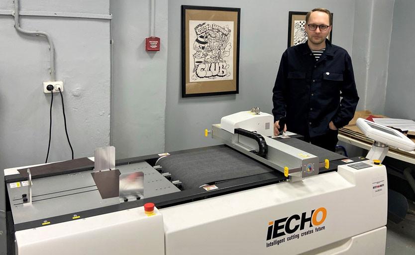 В типографии «Особый формат» установлен режущий плоттер iEcho