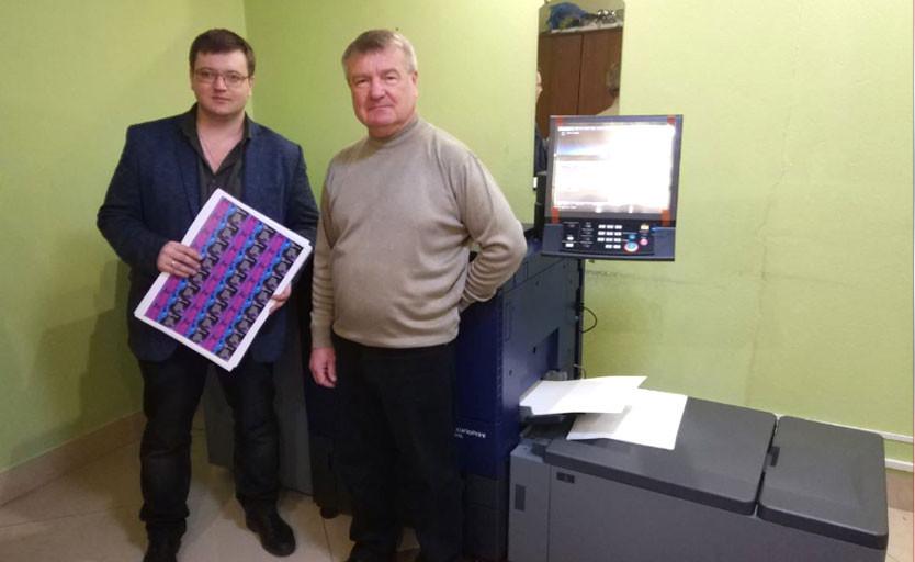 В типографии «Планета» запущена вторая ЦПМ Konica Minolta