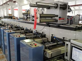 В типографии «Полифлекс» модернизирована флексографская печатная машина Donghang