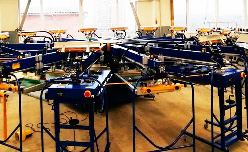 На производстве компании Elis Fashion Rus запущен комплекс для трафаретной печати Printex