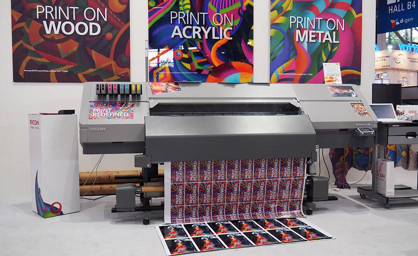Широкоформатный латексный принтер Ricoh Pro L5160