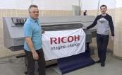 Широкоформатный латексный принтер Ricoh Pro L5160e установлен в Издательском доме «Липецкая газета»