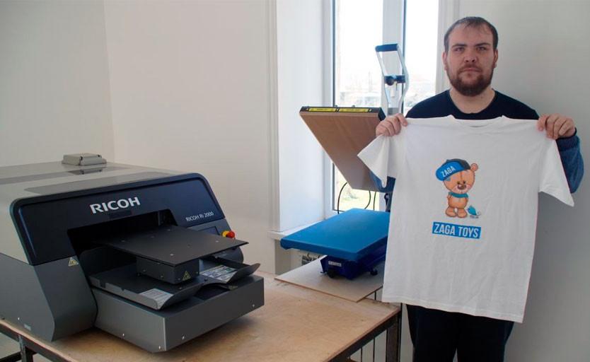 Первый в России и СНГ текстильный принтер Ricoh Ri 2000 установлен в компании Aveasa