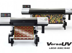 Roland DG выпустила новые рулонные УФ-принтеры/каттеры VersaUV LEC2