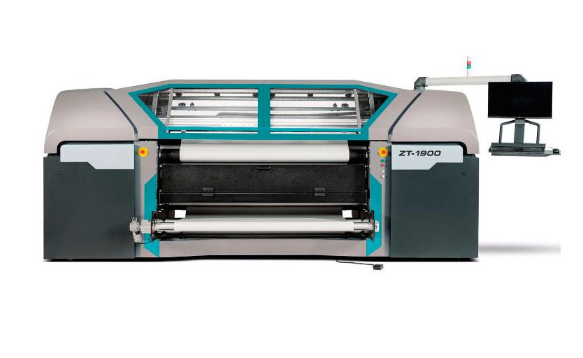 Roland DG выпустила на рынок новый сублимационный принтер ZT-1900
