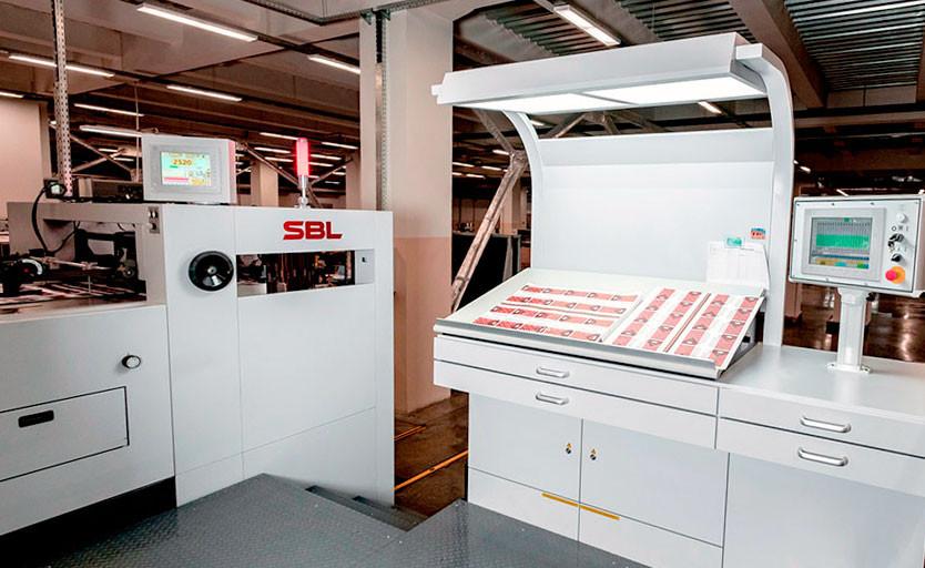 SBL-1060EF на производстве типографии «Полиграфия Славянка»
