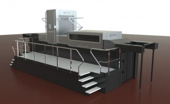 Cтруйная машина для финишной отделки картонной упаковки Scodix E106