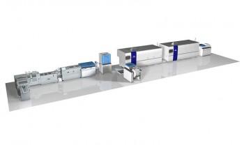 Цифровая машина Screen и интегрированная брошюровочная линия Horizon
