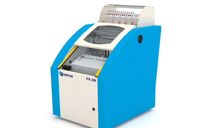 В типографии Всероссийского Института повышения квалификации сотрудников МВД России установлена ниткошвейная машина SMYTH FX-30