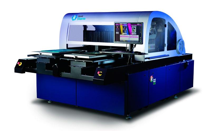 В Москве установлен демонстрационный текстильный струйный принтер Storm HD производства Kornit Digital