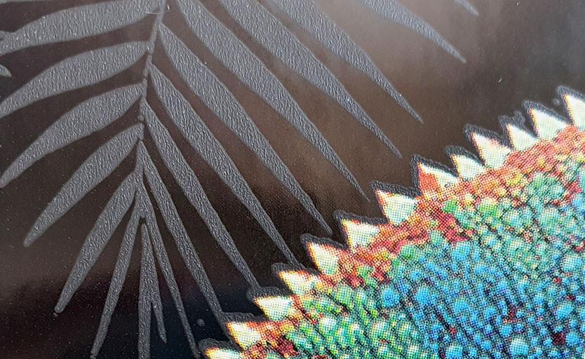 """ГК """"Танзор"""" разработала структурный лак SD 908/50 с эффектом """"наждачной бумаги"""""""