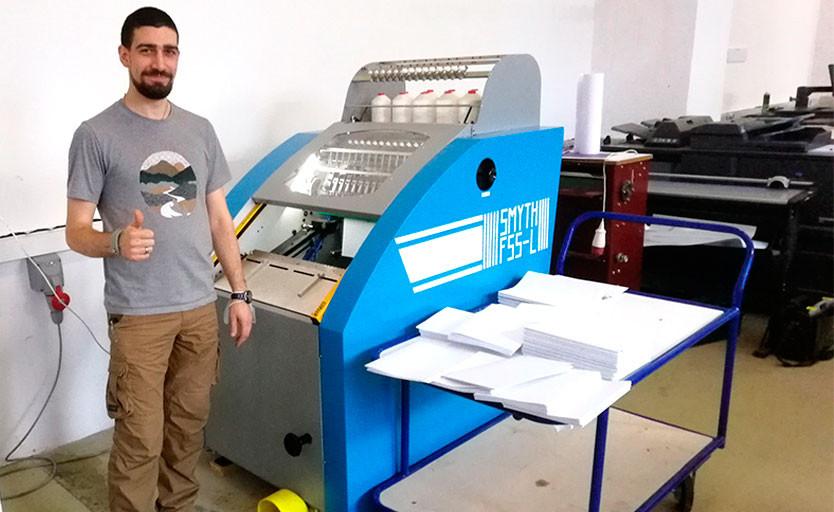 В «Технологиях печати» установлена ниткошвейная машина Smyth F55-L
