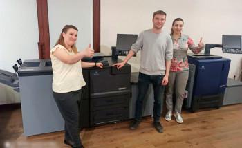 В типографии Национального музея Республики Северная Осетия-Алания установлен комплекс оборудования для цифровой печати на базе решений Konica Minolta