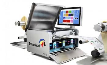 Цифровая машина для печати этикетки TrojanLabel