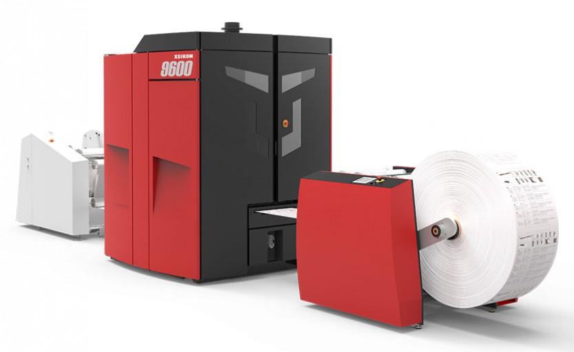Цифровая печатная машина Xeikon 9600