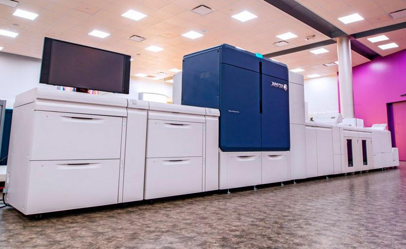 В типографии «Малахит» введена в эксплуатацию ЦПМ Xerox Iridesse Production Press