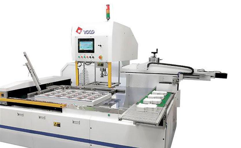 Типография «Этикор» приобрела автоматическую машину Yoco SM1080T-B для разделения заготовок