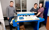 На производстве ГК FineArtPrint установлена крышкоделательная машина Zechini