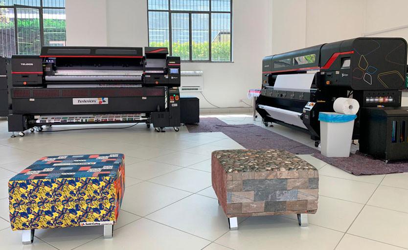 d.gen открыла в Италии демозал, где представлено оборудование для цифровой печати по текстилю