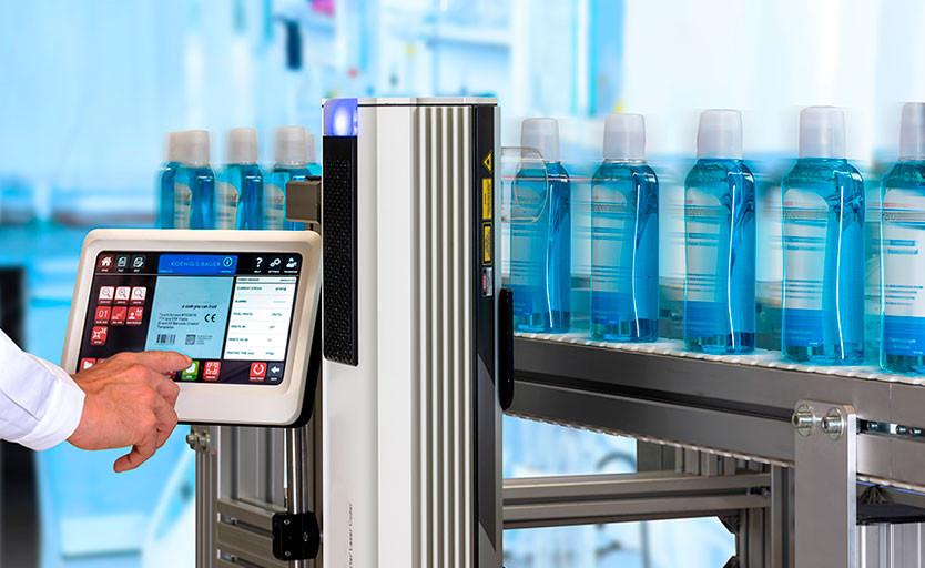 Koenig & Bauer выпустила на рынок устройство лазерной маркировки iCON 3