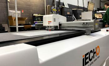В типографии Green Print установлен режущий плоттер iEcho